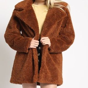 FALL!Copper  TEDDY BEAR COAT 💕